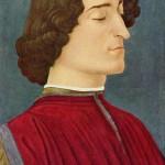Giuliano de Medicis Sandro Botticelli GemaldeGalerie Berlin