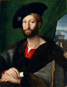 Julien II de Medicis Duc de Nemours Rafael