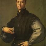 Jacopo Pontormo 1529, Portrait de jeune homme avec chapeau rouge, National Gallery, Londres Portrait attribué à Lorenzino de Medicis