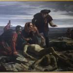 Mort_de Charles le Téméraire à Nancy Charles Houry 1852 Musée lorrain