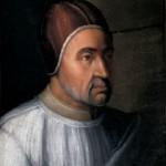 Pape Eugène IV Cristofano dell'Altissimo Galerie des Offices