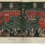 Seance du Parlement de Bourgogne