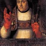 Alfonso de Borja Evêque de Valence Pape Calixte III Musée de la cathedrale de Valence
