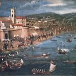 Expulsion des Morisques du port de Vinaros 1609 par Francisco Peralta Histoire de la Communauté de Valence par le père Oromig