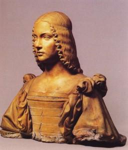Giancristoforo Romano Buste en terre cuite d'Isabelle d'Este Marquise de Mantoue Image Web Gallery of Art