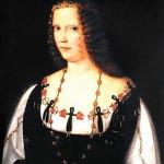 Bartolomeo Veneziano Portrait de jeune femme vers 1510 National Gallery Londres