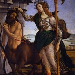 Sandro Botticelli 1445 1510 Pallas et le Centaure circa 1482 Crédit photo Web Gallery of art 207x148 Galerie des Offices