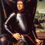 """Juan de Juanes Portrait d'Alphonse V d'Aragon dit """"le Magnanime"""" Musée de Saragosse"""