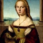 Rafaello Sanzio Portrait de jeune femme Galerie Borghese