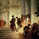 Cesar Borgia quitte le Vatican Giuseppe Lorenzo Gatteri 1829 86 Museo Civico Rivoltello, Trieste Italy