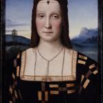 Elisabeth de Gonzague épouse de Guidobaldo de Montefeltre par Raphael Galerie des Offices