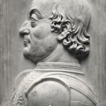 Federico da Montefeltro Bas relief