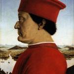 Federico da Montefeltro Piero della francesca Galerie des Offices Florence