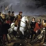 Federico de Madrazo y Küntz Gonzalve de Cordoue observant la dépouille du duc de Nemours Musée du Prado