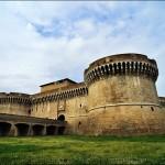 Forteresse de Senigaglia construite par Frederic de Montefeltre