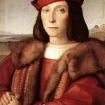 Francois Marie della Rovere neveu de Guidobaldo da Montefeltro Raphael 0,480 x 0,355 1505 Galerie des Offices Florence