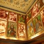 Galerie des vingt huit portraits du studiolo Urbino