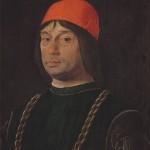 Giovanni II Bentivoglio Lorenzo Costa Galerie des Offices Florence