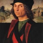 Guidobaldo montefeltro c 1506 370 x 475 Rafael Sanzio Liechtenstein Collections Princières