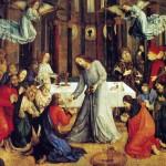 Joos Van Wassenhove ou Juste de Gand La communion des apôtres Galleria Nazionale delle Marche Urbino