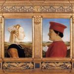 Le triomphe de la chastete Piero della Francesca Galerie des Offices Florence