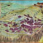 Plan de la forteresse de San Leo