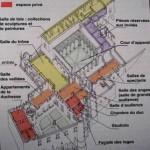 Plan en coupe du palais ducal Urbino La Documentation française souce Exposé de Justine Laure
