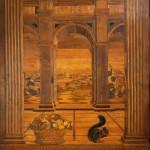 Marquèterie de Baccio Pontelli au Studiolo du Palazzo Ducale d'Urbino