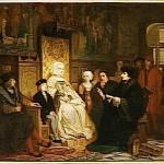 Enfance de Charles Quint avec Marguerite d'Autriche Lecture d'Erasme Edouard Jean HAMMAN Musee d Orsay