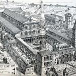 Vieille Basilique St Pierre vers 1450