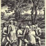 Hendrick Hondius 2 d apres Peter Brueghel Pelerinage des Epileptiques a l eglise de Molenbeek
