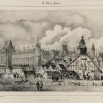 La Pompe de la Samaritaine en 1603 Godefroy, d'après Pernot Musée Carnavalet - Histoire de Paris XIXe siècle Lithographie G 39161