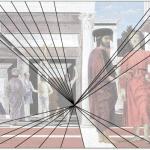 La flagellation du Christ de Piero Della francesca 1454 Lignes de fuite