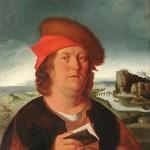 Portrait présumé de Paracelse Le Louvre