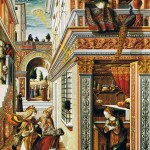 L'Annonciation par Carlo Crivelli 1486 Londres National Gallery