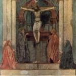 Trinite de Masaccio Eglise Santa Maria Novella Florence