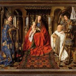 La Madone du Chanoine Van der Paele Jan Van Eyck Groeninge Museum Bruges