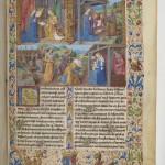 De Vita Christi Folio 1r Francais 407 BNF