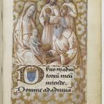 Heures de Charles VIII Les rois mages Jean Bourdichon Département des manuscrits, Latin 1370 Folio 90r BNF