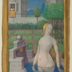 Jean Bourdichon Livre d'heures de Louis XII Bathsheba Bathing The Paul Ghetty Museum