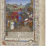 Jean Bourdichon Flavius Josephe, Les Antiquités judaiques Français 247 F. 194v captivite de Babylone Folio 194r BNF