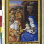 Jean Bourdichon Ms 1173 L adoration des Mages Heures d Angouleme BNF