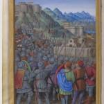 Jean Marot le voyage de Gênes Jean Bourdichon Département des Manuscrits, Français 5091 Folio 10v BNF