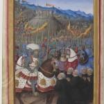 Jean Marot le voyage de Gênes Département des Manuscrits, Français 5091 Folio 20v BNF