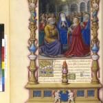 La Pentecôte Missel de Jacques de Beaune Semblançay Folio 226v Latin 886 BNF