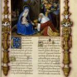La visite des Rois Mages Missel de Jacques de Beaune Folio 31 Latin 886 BNF