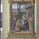 Les rois mages 116v Ms Latin 920 Heures de Laval BNF