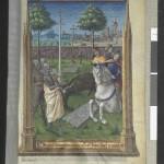 Les trois morts et les trois vifs Heures de Louis de Laval folio 190 r Ms Latin 920 BNF