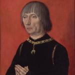 Louis de Bruges de la Gruuthuyse Peintre flamand anonyme Groeninge Museum, Bruges