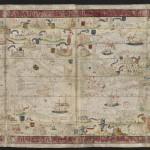 Mer Méditerranée Folio 6v Atlas nautique du Monde, dit atlas Miller Homem, Lopo. Cartographe 1519 Bibliothèque nationale de France, [Ge D 26179 Rés]